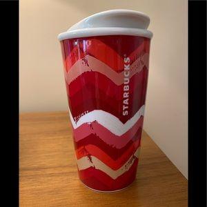 Starbucks 2014 Chevron Tumbler